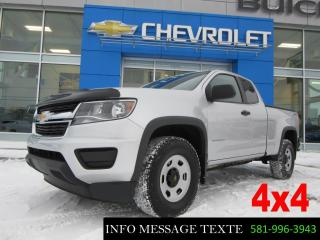 Used 2017 Chevrolet Colorado AWD for sale in Ste-Marie, QC