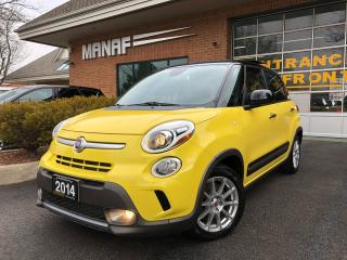 Used 2014 Fiat 500L HB Trekking Pano Park Assist Heated Seats Certi* for sale in Concord, ON