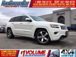 Used 2015 Jeep Grand Cherokee OVERLAND/4X4/DIESEL/TOW/COMFORT & MORE!!! for sale in Milton, ON