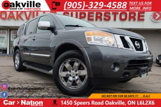 Used 2012 Nissan Armada PLATINUM EDITION | TV | CAPTAIN CHAIRS | NAV for sale in Oakville, ON