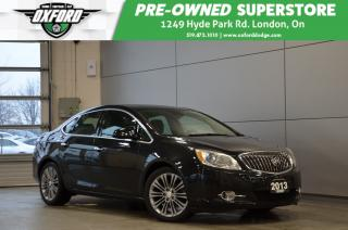 Used 2013 Buick Verano Premium - low kms, Bose Sound System, Well Equippe for sale in London, ON