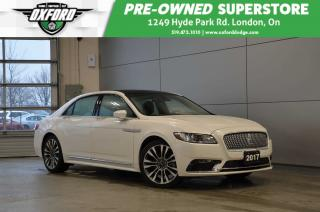 Used 2017 Lincoln Continental Reserve - one owner, rare model, fully equipped for sale in London, ON