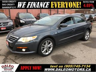 Used 2012 Volkswagen Passat CC|LEATHER|HEATED SEATS|BLUETOOTH for sale in Hamilton, ON