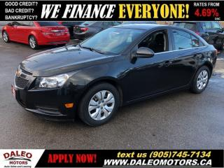 Used 2014 Chevrolet Cruze 1LT   BLUETOOTH   ONSTAR   WE FINANCE! for sale in Hamilton, ON