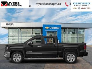 Used 2016 GMC Sierra 1500 SLT Crew CAB 4x4 Leather Loaded ONE Owner for sale in Ottawa, ON