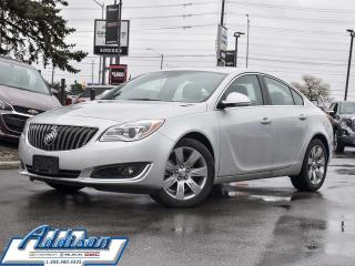 Used 2017 Buick Regal Premium I - Low Mileage for sale in Mississauga, ON