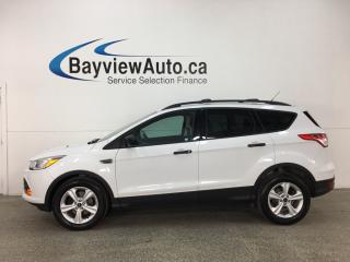Used 2016 Ford Escape - SYNC! REVERSE CAM! CRUISE! A/C! ALLOYS! for sale in Belleville, ON