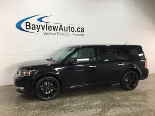Used 2017 Ford Flex Limited - SYNC! PANOROOF! BSA! KEYPAD! NAV! REVERSE CAM! SONY STEREO! for sale in Belleville, ON