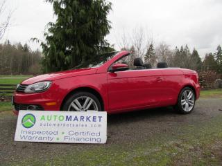 Used 2014 Volkswagen Eos AUTO, INSP, WARRANTY, FINANCE, FREE BCAA MEMBERSHIP for sale in Surrey, BC