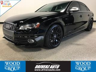 Used 2012 Audi S4 3.0 6 SPEED MANUAL, SUNROOF, LEATHER/SUEDE for sale in Calgary, AB