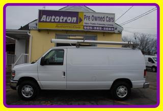 Used 2014 Ford E250 3/4 Ton Econoline Cargo Van, Chrome Pkg. Roof Rack for sale in Woodbridge, ON