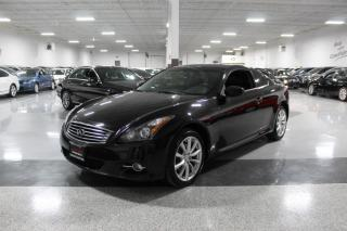 Used 2013 Infiniti G37 G37X AWD COUPE I LEATHER I SUNROOF I REAR CAM I HEATED SEATS for sale in Mississauga, ON