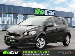 Used 2015 Chevrolet Sonic LT Auto HEATED SEATS | BACK UP CAM | ONLY $56/WK TAX INC. $0 DOWN for sale in Fredericton, NB