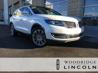 Used 2016 Lincoln MKX Reserve ***PRICE REDUCED*** 3.7L, NAVIGATION, SUNROOF, LEATHER, LANE KEEP, ADAPTIVE CRUISE, NO ACCIDENTS for sale in Calgary, AB