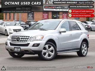 Used 2010 Mercedes-Benz ML-Class LOW KM! MINT CONDITION! NAVI! for sale in Scarborough, ON