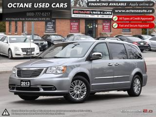 Used 2013 Chrysler Town & Country Limited ACCIDENT FREE! ONTARIO VEHICLE! LIMITED! for sale in Scarborough, ON