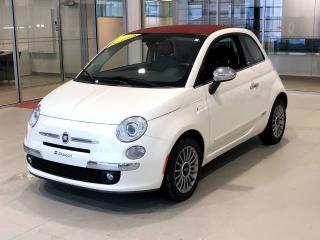 Used 2013 Fiat 500 Décapotable 2 portes Lounge for sale in Beauport, QC