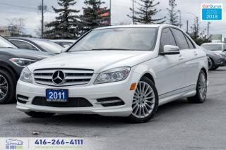 Used 2011 Mercedes-Benz C250 AWD 2.5L SUNROOF NO ACCIDENTS CERTIFIED SERVICED for sale in Bolton, ON