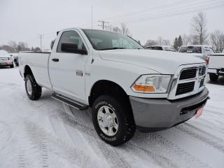 Used 2011 RAM 2500 ST. Hemi. 4X4. New tires for sale in Gorrie, ON