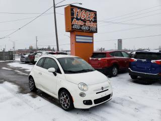Used 2014 Fiat 500 Sport**ONLY 112 KMS**CERTIFIED for sale in London, ON