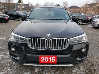 Used 2015 BMW X3 xDrive35i/Navi/Bluetooth/Bk-up Camera & Sensors for sale in Scarborough, ON