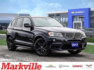 Used 2013 BMW X3 XDRIVE35i-AWD-NEW BRAKES-CERTIFIED PRE-OWNED-CLEAN for sale in Markham, ON