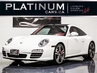 Used 2012 Porsche 911 Targa 4S, Sport CHRONO, NAVI, SUNROOF, RED Leather for sale in Toronto, ON