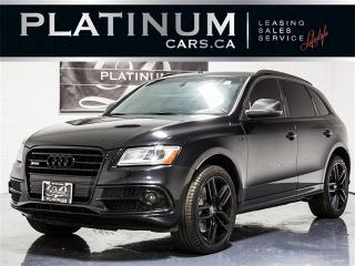 Used 2014 Audi SQ5 3.0T Quattro TECHNIK, NAVI, PANO, BANG&OLUFSEN for sale in Toronto, ON