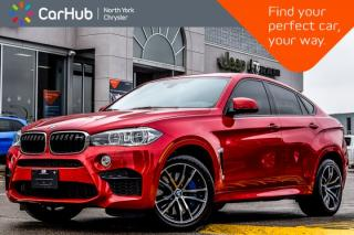 Used 2016 BMW X6 M AWD|Sunroof|Nav|H/K Audio|Bluetooth|Cruise|SiriusXM|20