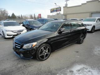 Used 2018 Mercedes-Benz C-Class C300-Wagon-4MATIC-Cuir-Toit-Navi a vendr for sale in Laval, QC