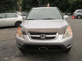Used 2004 Honda CR-V EX-L-SPECIAL SALE PRICE ONLY $4,888.00 for sale in Scarborough, ON