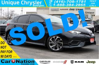 Used 2016 Scion iM REAR CAM| BLUETOOTH| DUAL CLIMATE & MORE| 1-OWNER for sale in Burlington, ON