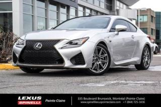 Used 2016 Lexus RC F Freins Brembo, Audio for sale in Montréal, QC