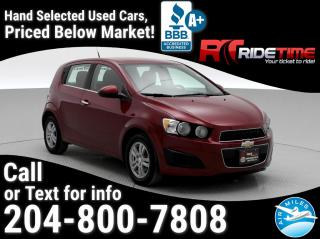 Used 2014 Chevrolet Sonic LT for sale in Winnipeg, MB