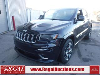 Used 2014 Jeep Cherokee Grand SRT8 4D Utility 4WD 6.4L for sale in Calgary, AB