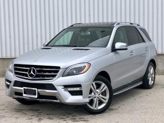 Used 2013 Mercedes-Benz ML-Class 4MATIC BlueTEC|Accident Free|Navi|Lane/Blind Spot Assit for sale in Mississauga, ON
