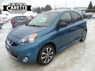 Used 2015 Nissan Micra SR for sale in East broughton, QC