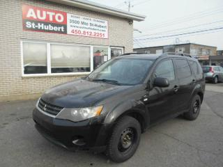 Used 2008 Mitsubishi Outlander LS ** 7 PASSAGERS ** for sale in St-Hubert, QC