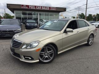 Used 2011 Mercedes-Benz E-Class E 350|NAVI|PANOROOF| for sale in Mississauga, ON