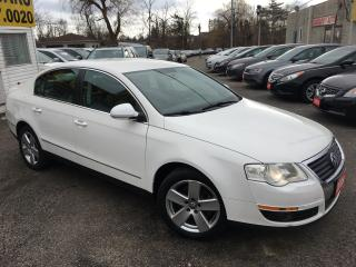 Used 2009 Volkswagen Passat AUTO/ LEATHER/ POWER SEATS/ ALLOYS/ LOADED! for sale in Scarborough, ON