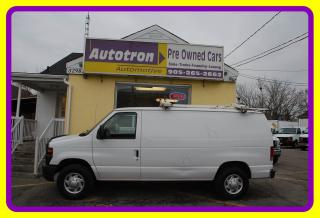 Used 2013 Ford E250 3/4 Ton Cargo Van, Roof Rack for sale in Woodbridge, ON