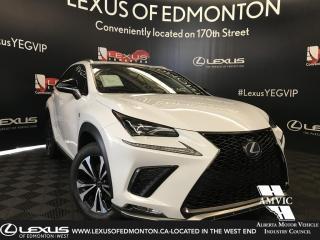 New 2019 Lexus NX 300 F Sport Series 2 for sale in Edmonton, AB