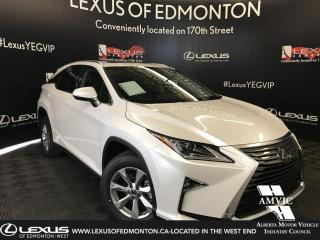 Used 2019 Lexus RX 350 DEMO UNIT - STANDARD PACKAGE for sale in Edmonton, AB