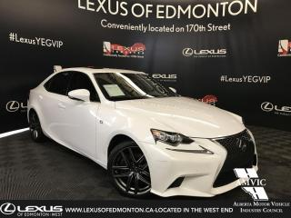 Used 2016 Lexus IS 350 F Sport Series 2 for sale in Edmonton, AB