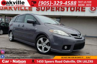 Used 2007 Mazda MAZDA5 GS | LEATHER | WHOLESALE PRICE | AS IS | SPECIAL for sale in Oakville, ON