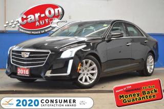Used 2016 Cadillac CTS 3.6L Luxury Collection AWD NAV PANO ROOF LOADED for sale in Ottawa, ON