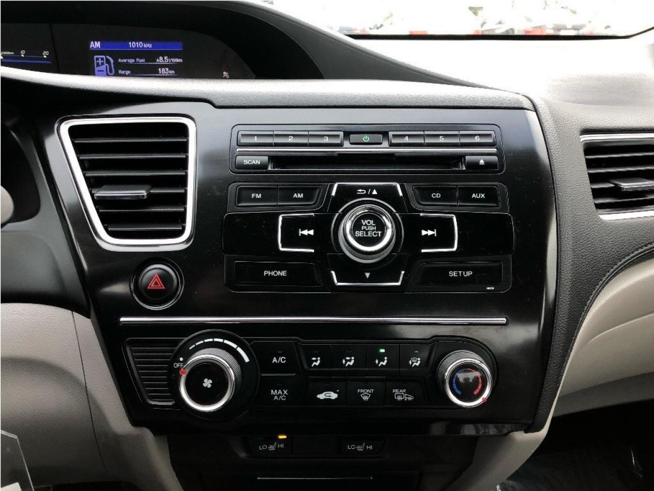 2013 Honda Civic LX    Heated Seats - Bluetooth