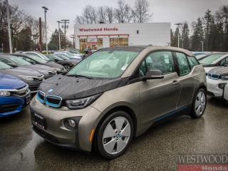 Used 2016 BMW i3 Base w/Range Extender, No Gas for sale in Port Moody, BC