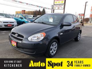 Used 2008 Hyundai Accent L/LOW, LOW KMS/PRICED - QUICK SALE! for sale in Kitchener, ON