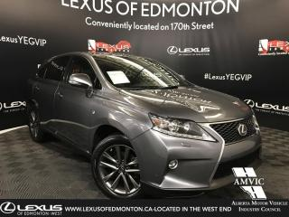 Used 2015 Lexus RX 350 F Sport Package for sale in Edmonton, AB